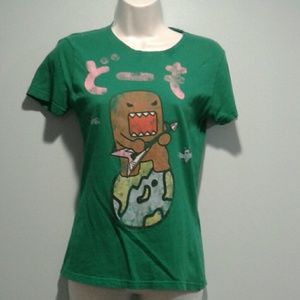 Domokun guitar green t-shirt M